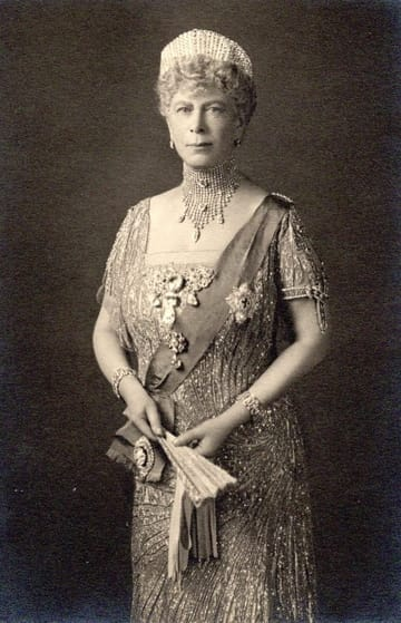 H M Queen Mary Wife Of George V