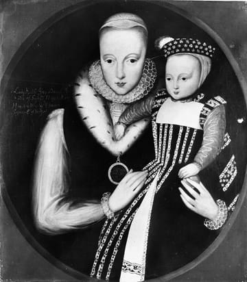 Catherine Grey And Child